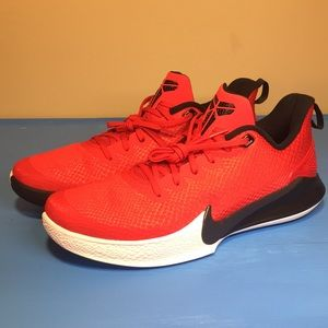 Nike Kobe Mamba Focus University Red sz 12 NEW